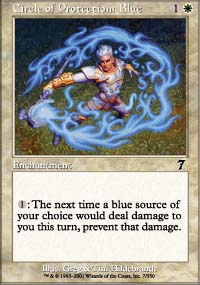 Circle of Protection: Blue - 7th Edition