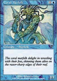 Coral Merfolk - 7th Edition