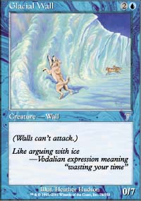 Glacial Wall - 7th Edition