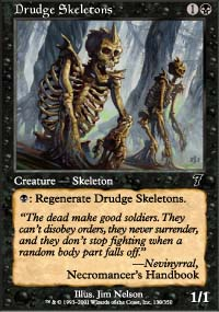 Drudge Skeletons - 7th Edition