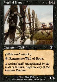 Wall of Bone - 7th Edition