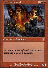 Fire Elemental - 7th Edition