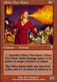 Ghitu Fire-Eater - 7th Edition