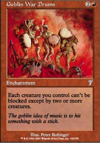 Goblin War Drums - 7th Edition