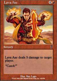 Lava Axe - 7th Edition