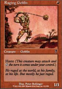 Raging Goblin - 7th Edition