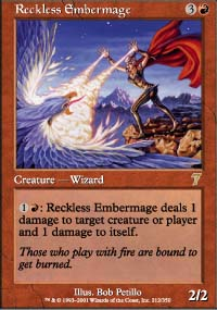 Reckless Embermage - 7th Edition