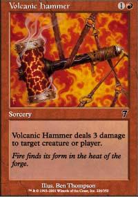 Volcanic Hammer - 7th Edition