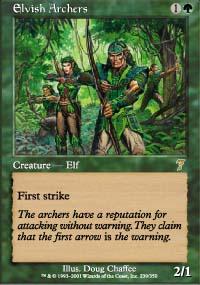 Elvish Archers - 7th Edition
