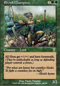 Elvish Champion - 7th Edition