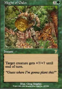 Might of Oaks - 7th Edition