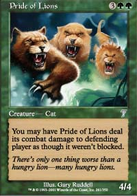 Pride of Lions - 7th Edition