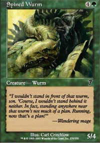 Spined Wurm - 7th Edition