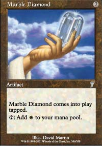 Marble Diamond - 7th Edition