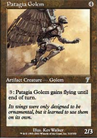 Patagia Golem - 7th Edition