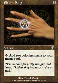 Sisay's Ring - 7th Edition