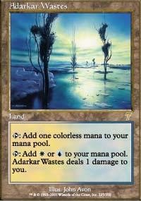 Adarkar Wastes - 7th Edition