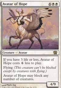 Avatar of Hope - 8th Edition