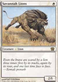 Savannah Lions - 8th Edition