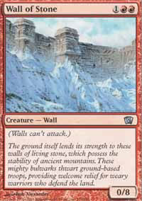 Wall of Stone - 8th Edition