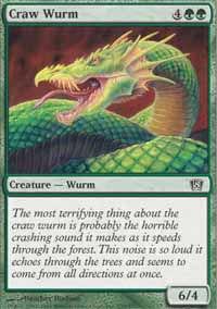 Craw Wurm - 8th Edition
