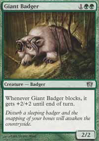 Giant Badger - 8th Edition
