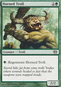 Horned Troll - 8th Edition
