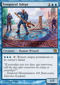 Temporal Adept - 9th Edition