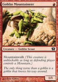 Goblin Mountaineer - 9th Edition
