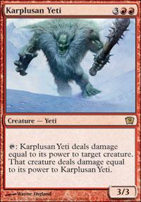 Karplusan Yeti - 9th Edition