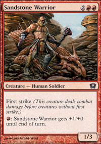 Sandstone Warrior - 9th Edition