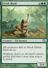 Elvish Bard - 9th Edition