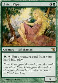 Elvish Piper - 9th Edition
