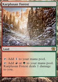 Karplusan Forest - 9th Edition
