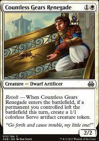 Countless Gears Renegade - Aether Revolt