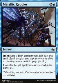 Metallic Rebuke - Aether Revolt