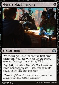 Gonti's Machinations - Aether Revolt