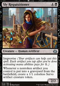 Sly Requisitioner - Aether Revolt