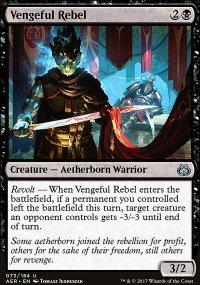 Vengeful Rebel - Aether Revolt