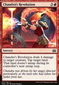 Chandra's Revolution - Aether Revolt
