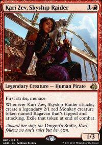 Kari Zev, Skyship Raider - Aether Revolt