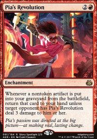 Pia's Revolution - Aether Revolt