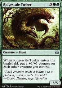 Ridgescale Tusker - Aether Revolt