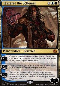 Tezzeret the Schemer - Aether Revolt