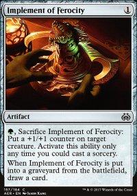 Implement of Ferocity - Aether Revolt