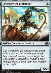 Prizefighter Construct - Aether Revolt