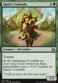 Ajani's Comrade - Aether Revolt