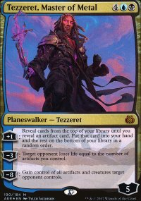 Tezzeret, Master of Metal - Aether Revolt