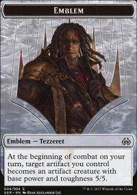Emblem Tezzeret the Schemer - Aether Revolt