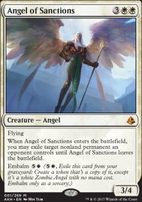 Angel of Sanctions - Amonkhet